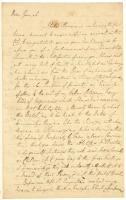 Edward Rutledge on Revolutionary War in southern colonies, Philadelphia, 1781