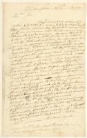 Matthew Thornton on congressional activity, Philadelphia, 1776
