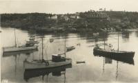 The Brackett fleet, Monhegan, ca. 1935