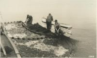 Raymond Chadwick crew, Monhegan, ca. 1935