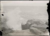 Waves at Fortune's Rocks, Biddeford, ca. 1915