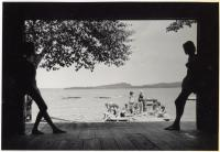 Waterfront, Camp Runoia, 1951
