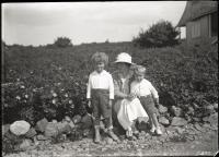 Katherine Shepard and sons, Biddeford, ca. 1916