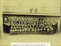 Boarders, convent school, St. Agatha, ca. 1920