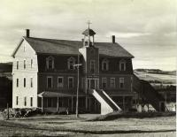 Sisters of the Holy Rosary Convent, Frenchville, ca. 1950
