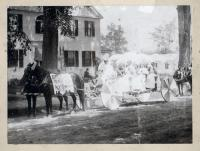 Dr. Stacy & Son Dry Goods parade carriage, South Berwick, 1914