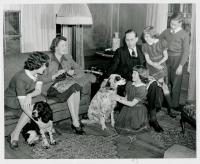 Governor Horace Hildreth and family, ca. 1945