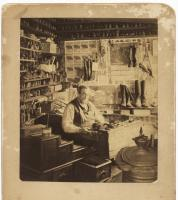 Shoemaker Francis Raynes, South Berwick ca. 1890