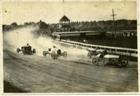 Auto race at Bass Park, Bangor, ca. 1915