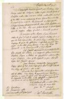 Samuel Huntington to James Bowdoin on suppressing Shays' Rebellion, Hartford, 1787