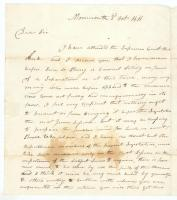 John Chandler to William King on Maine statehood, Monmouth, 1818
