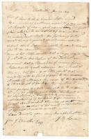 Joshua B. Lowell to John Chandler, Chesterville, 1819