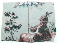 Wallpaper Fragment, ca. 1795