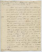 Mark L. Hill to William King, Washington, D.C., February 4, 1820