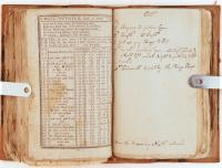"""""""Falmouth burnt by the Kings troops"""" journal entry, Falmouth Neck, 1775"""