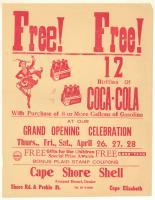 Cape Shore Shell advertisment, Cape Elizabeth, ca. 1962
