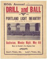 105th annual Drill and Ball, Portland, 1908