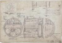 "Portland Company engineering drawing for the boiler in Admiral Peary's ""SS Roosevelt"", Portland, 1904"