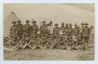 U.S. Army band, Laredo, Texas, 1916