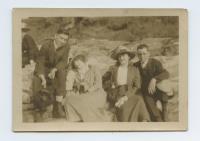 Joseph L. Murray with friends, ca. 1915
