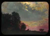 Sunrise at Stanley Hill, Kingfield, ca. 1910