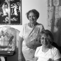 Lana Shkolnik and Galina Antonovskiy, Portland, 2009