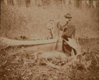 Hunting at Moosehead Lake,  August 1887