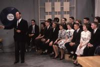 Deering High School students on the Dave Astor Show, Portland, 1962