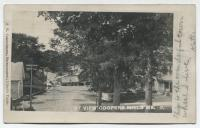 Main Street, Coopers Mills, Whitefield, ca. 1906