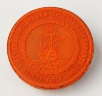 Society of Mayflower descendants seal, ca. 1867
