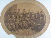 Portland Custom House officials under President James Buchanan, ca. 1857