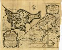 A plan of the city and harbour of Louisburg, 1758