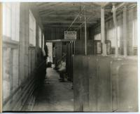 Interior view of Cumberland Shipbuilding Company, South Portland, ca. 1917