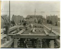 "Construction of the S.S. ""Cumberland,"" South Portland, 1918"
