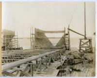 "S.S. ""Falmouth"" under construction, South Portland, 1918"