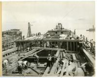 "The Construction of the S.S. ""Falmouth,"" South Portland, 1918"