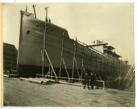 "The S.S. ""Belgrade,"" South Portland, 1918"