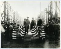 "Site of the S.S. ""Lewiston"" launch, South Portland, 1918"
