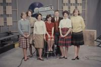 Cast regulars on The Dave Astor Show, Portland, 1962
