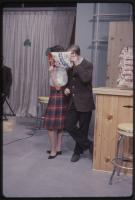 Circus Time Potato Chips promotion on the Dave Astor Show, Portland, 1962
