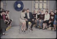 South Portland High School students perform on the set of The Dave Astor Show, Portland, 1962