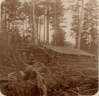 Tremblay and Kennedy Camp, Ragged Lake, 1898