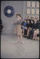 Teenage performer on the set of The Dave Astor Show, Portland, 1962