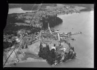 Aerial view of Campobello Island, ca. 1930