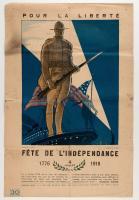 Pour La Liberté, Fête De L'Indépendance, 1918
