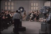 Lewiston High School student on The Dave Astor Show, Portland, 1962