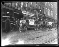 Ernest O. Porell bike ride, Portland, October, 1936