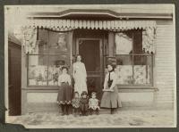 Mrs. Z.C. Bolduc Dress & Cloak shop, Auburn, ca. 1903