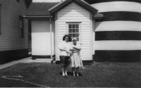 Mae Doble and Mrs. Sarah Gray