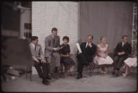 Dave Astor and guests off camera on The Dave Astor Show, Portland, ca. 1962